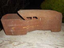 Vintage 1930s Marx Streamliner Sit And Ride Train Toy Body Parts Restore Project