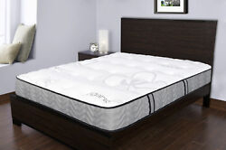 Spectra Orthopedic Mattress Organic 11.5 Inch Medium Firm Quilted-top Double...