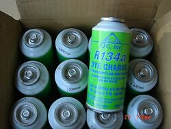 (12) Case lot Fjc Inc. 4921 R134A DYE CHARGE