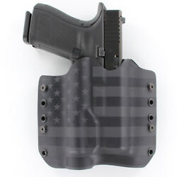 Owb Kydex Holster For Hanguns With Surefire X300 Ultra - A - Usa Stealth Black