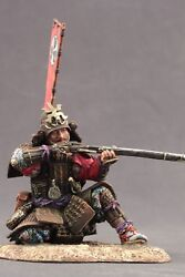 Tin Toy Soldiers Elite Painted 90mm A Samurai With A Gun