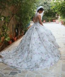 Floral wedding dress Bloom by Ines di Santo Spring 2017 size 6