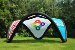 Air Tight Inflatable Beach Yard Lawn Patio Awning Canopy Marquee Tailgating Tent