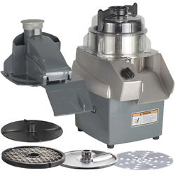 Hobart Hcc34-1a Combination Food Processor With Slicer, Shredder, Dicing Plates