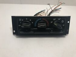 01-04 CHEVY VENTURE AC HEATER CLIMATE TEMPERATURE CONTROL (OEM)