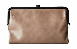 Hobo Womens Glory Vintage Leather Clutch Wallet Ash
