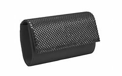 Metal Mesh Evening Bag for Women and Party Bags for Girls Cluth Purse Bling S...