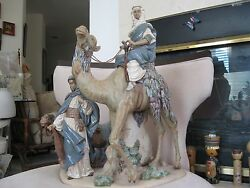 Lladro 13555 Desert People 1982 Limited Edition Sold Out 142/750