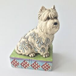 Jim Shore Winston Westie West Highland Terrier 4009746 Collectible