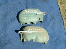 Johnson1950and039s 25hp Sea Horse Side Motor Covers