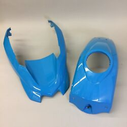 Center Tank Cover & Front Fender for BMW R1200GS WC  Fire Blue #46638536974
