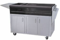 Profire Pf48sscbn 48 Stainless Steel Portable Cart - Ng