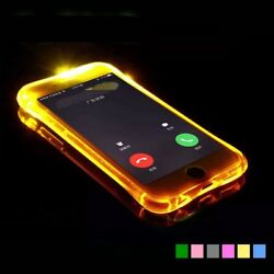 Fashion LED Flash Light Case For iPhone 11 Pro XS Max XR Shockproof Case For 7 8