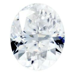 Crushed Ice Oval First Crush Fab Moissanite Loose Stone