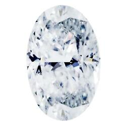 Skinny Cut Crushed Ice Oval First Crush Fab Moissanite Loose Stone