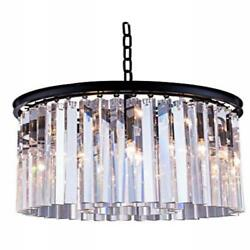 1208 Sydney Collection Pendent Lamp D20 H13.5 Lt6 Mocha Brown Finish Ro...