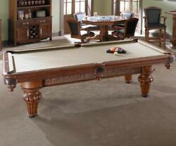 Palmetto Pool Table 8' by American Heritage Amaretto Finish w FREE Shipping