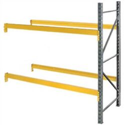 New Husky Rack And Wire Double Slotted Pallet Rack Add-on 96w X 36d X 120h
