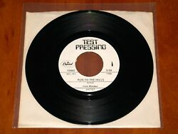 Iron Maiden Run To The Hills Rare 7 Test Pressing Vinyl 1982 Capitol Archive