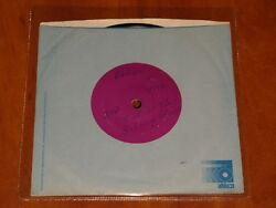 The Rolling Stones Out Of Time Rare 7 Test Pressing Vinyl Us Promo Abkco 1975