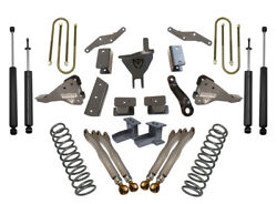 Maxtrac K943341l 4 Forged Four Link Lift Kit For 2017-2020 Ford F250/350 4wd