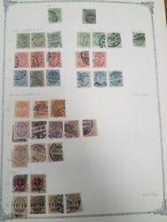 Denmark Collection 1851-1963 On Homemade Pages, Mint And Used, Scott 4,478.00