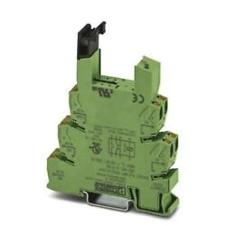 Phoenix Contact 2 pin Relay Socket DIN Rail 120V acdc for use with PLC Series