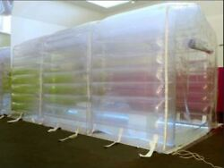 Air Tight Inflatable Indoor Outdoor Hydroponic Grow Room Greenhouse W/ Pump New