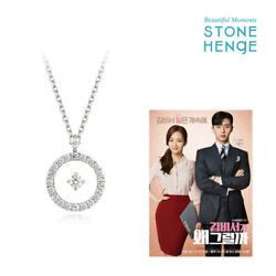 Stone Henge Silver925 Necklace K1223 Womens Jewelry Gift Park Min-young K-drama