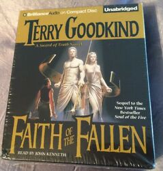Sword of Truth: Faith of the Fallen 6 by Terry Goodkind (2007 CD Unabridged)
