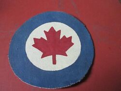 1950's /current Roayal Canadian  Air Force Flight Jacket Patch