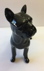 Boston Terrier Ceramic Figurine