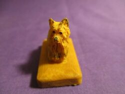 Arista of Scotland Miniature Yorkshire Terrier Figurine NEW