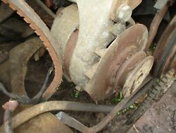 55 Ford Fairlane Front Bumper Core 1955 Needs Re-plate And Bends Fixed Sold As Is