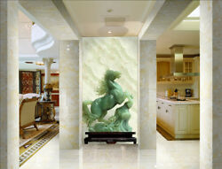 3d Green Horse 87 Wallpaper Mural Wall Print Wall Wallpaper Murals Us Carly