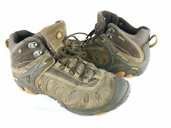 Merrell Chameleon III Ventilator Mens Sz 10 Hiking Boots Brown Goretex Vibram