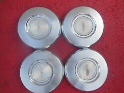 Premier Lincoln Continental Town Car Hubcaps Wheel Covers Center Caps 8 3/4