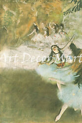 On The Stage-degas - Canvas Or Print Wall Art