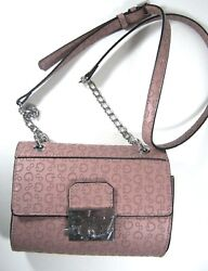 Guess Ladies Women's Crossbody Xbody Shoulder Small Bag Chain