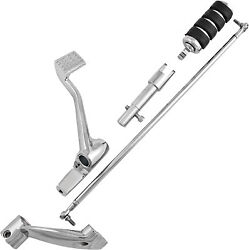 Harddrive 35-0215ck Forward Control Kit With Rubber Band Style Footpeg Chrome