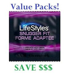 Lifestyles Snugger Fit Small Condoms - Value Packs Save