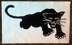 Backpatch Back Patch Black Panther Party For Self-Defence Panthers 60s 1960s