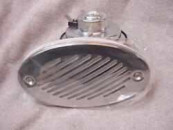 Sea Ray Whaler Boat Horn Flush Mount W Stainless Steel Cover And Others 12 V New