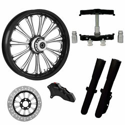 Imperial Eclipse 23 Wheel Tire Single Side W/ Raked Triple Trees Lowers And Slide