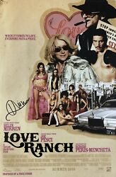 Helen Mirren Hand Signed 12x18 Photo Movie Poster Autographed Love Ranch Rare