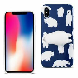 Reiko Iphone X/iphone Xs Tpu Design Case With 3d Soft Silicone Poke Squishy P...