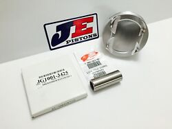 Je 84mm 12.81 Pistons For Renault Clio Rs F4r 144mm Rod 93mm Stroke