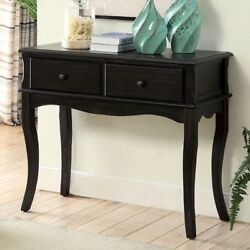 Aneissa 2 Drawer Hallway Cabinet Transitional Style