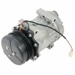 A/c Compressor - Sanden Style Sd7h15 Compatible With Massey Ferguson Challenger