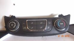 14 15 Chevrolet Impala Heater AC Temperature Climate Control 23113225 NICE OEM